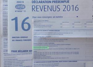 Impôts 2016 : une nouvelle ligne apparaît…