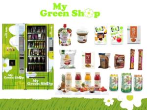 My Green Shop : des distributeurs de produits bio
