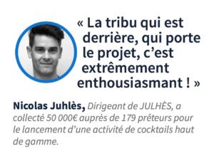 Nicolas Juhles crowdfunding