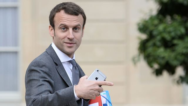 Macron crowdfunding