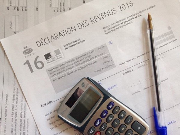 Declaration impot 2016