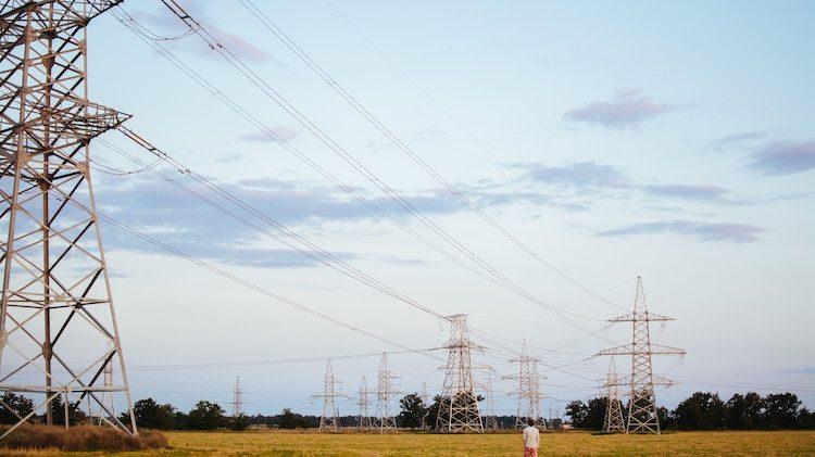 Electricité lignes à haute tension