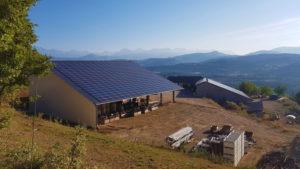 Centrale solaire parc photovoltaïque